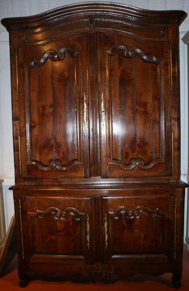 Cherry wood buffet de corps antique armoires
