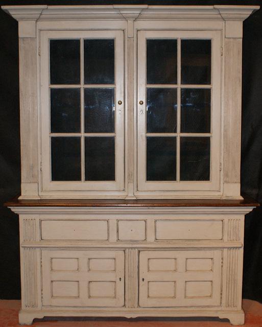 Custom Built Glazed Dresser