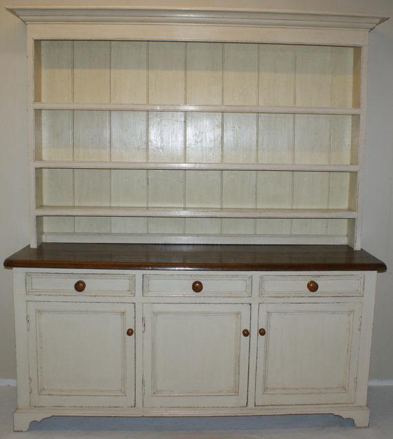 19th C Painted Dresser