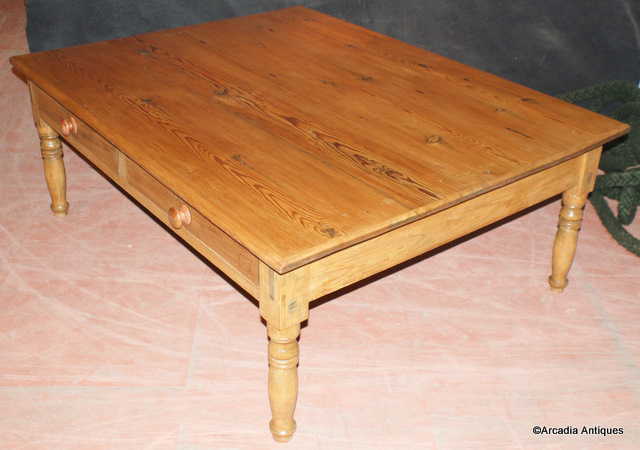 Very Large Pine Coffee Table