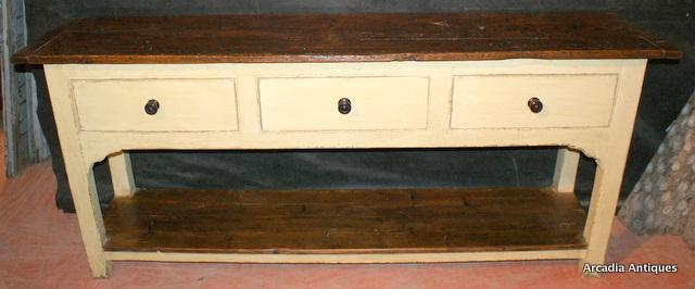 Victorian Potboard Dresser Base