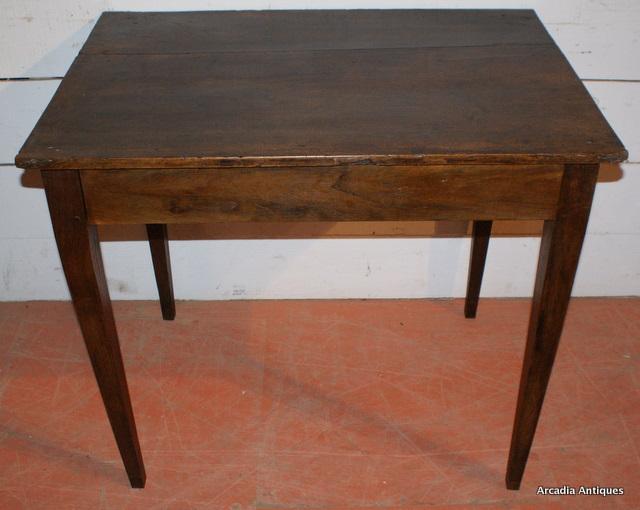 Walnut Lamp Table