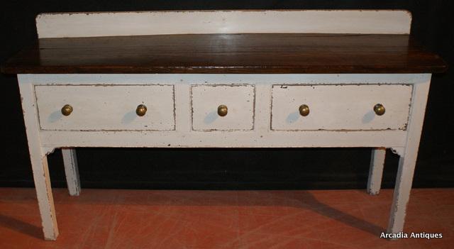 Georgian Painted Dresser Base