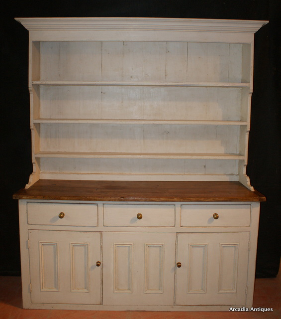 Painted country house dresser