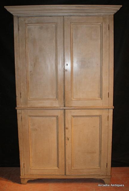 Linen Cupboard Antique CUPBOARDS