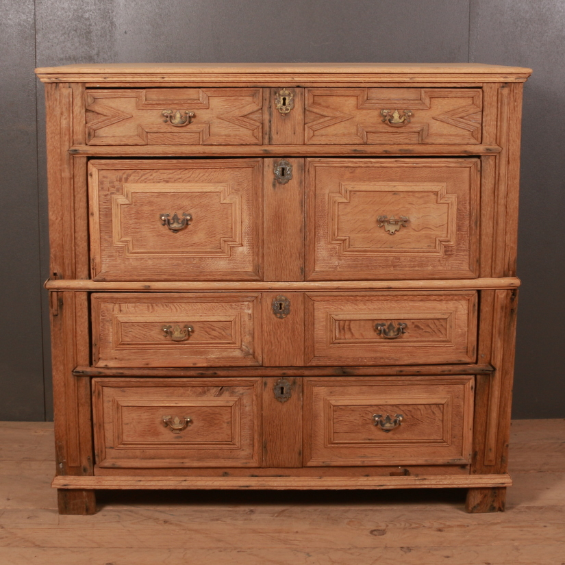 Bleached Oak Chest of Drawers