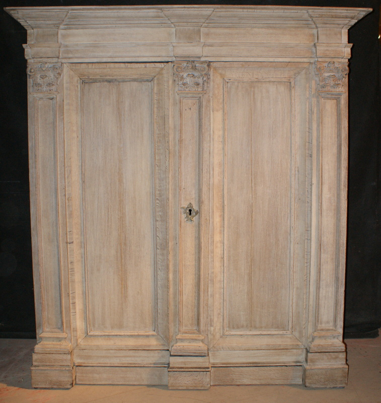 Bleached Oak Cupboard