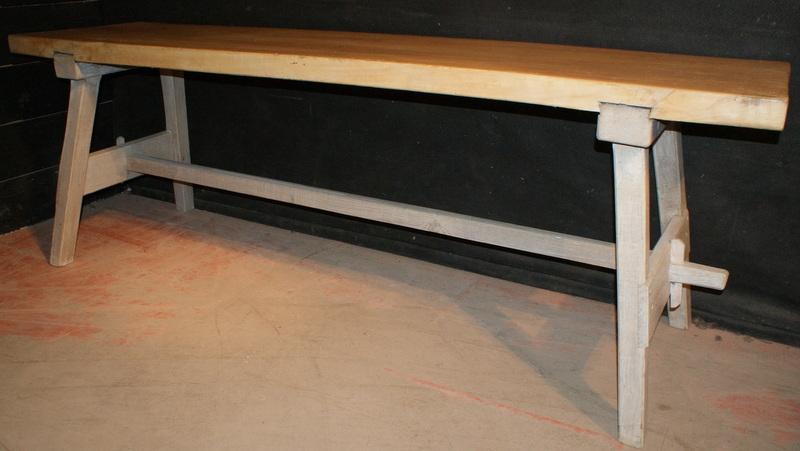 Sycamore Trestle Table