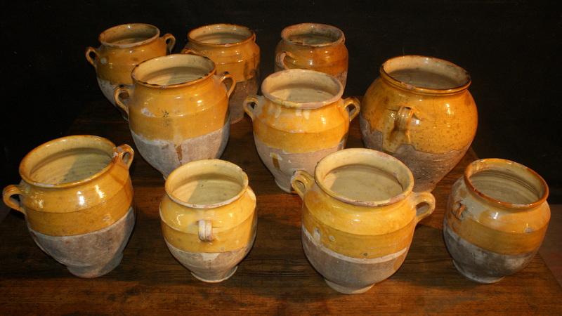 Glazed Confit Pots