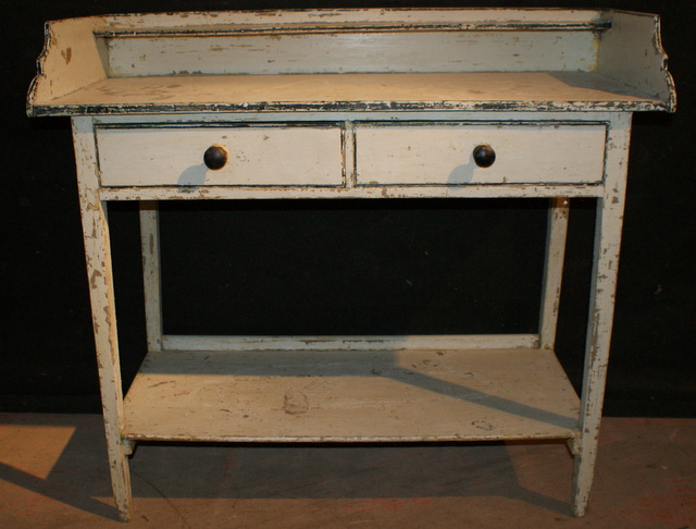 Original Painted Side Table