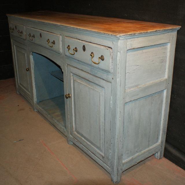 Painted Pine Dresser Base