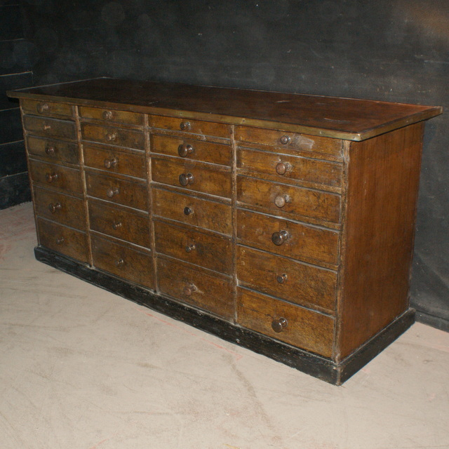 Original Painted Shop Fitting