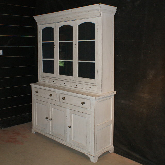 Painted English Dresser