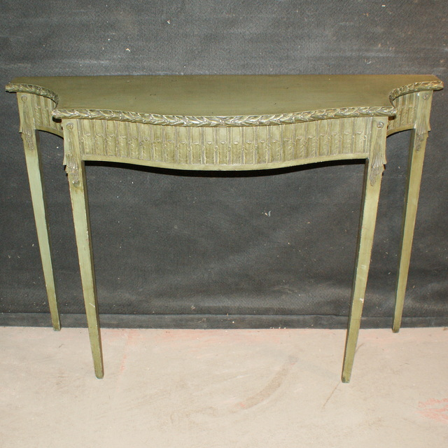 Original Painted Console Table