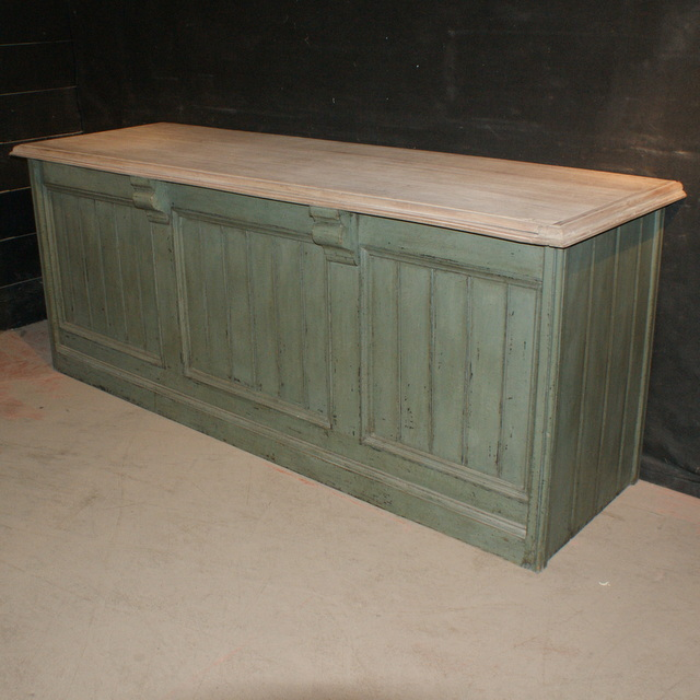 Painted Shop Counter