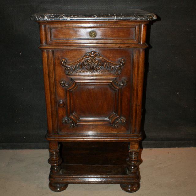 French Walnut Side Cabinet