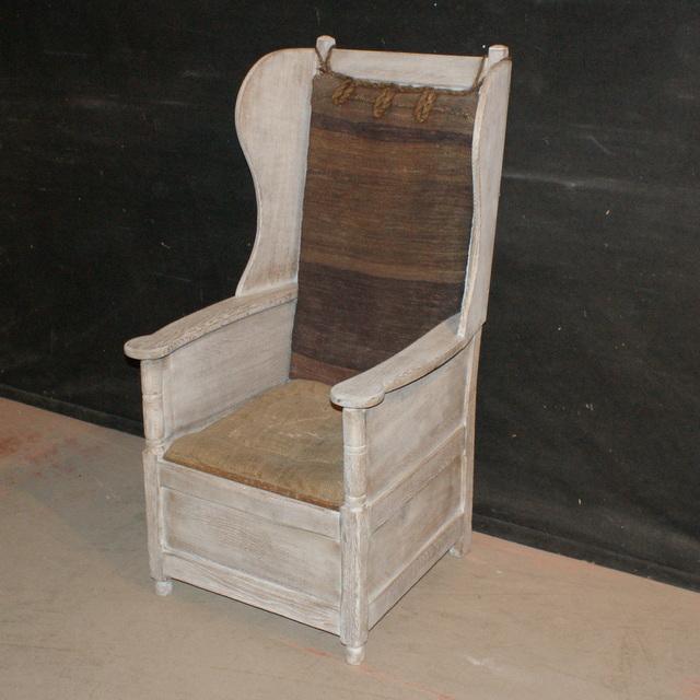Antique Lambing Chair