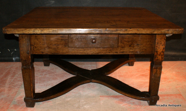 Antique Oak Low Table