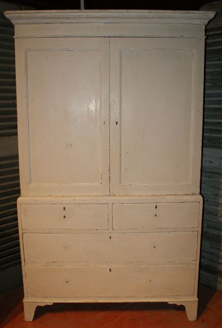 English Linen Cupboard Antique CUPBOARDS