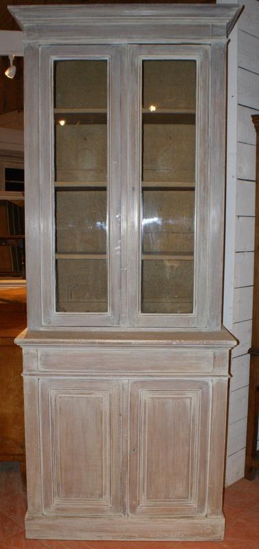 Painted Glazed Bookcase