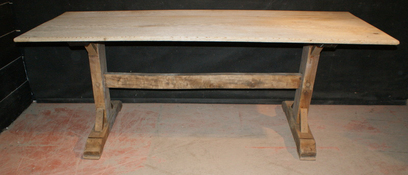 Bleached Oak Trestle