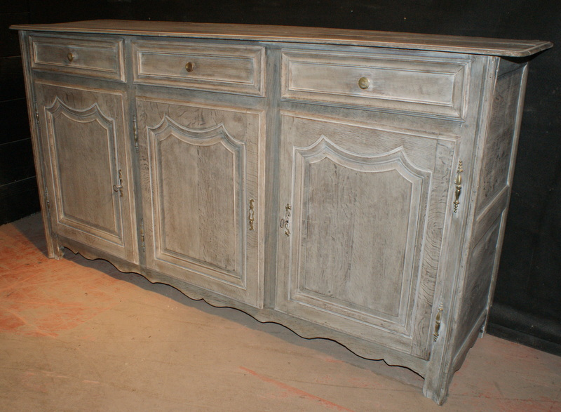 antique bleached enfilade antique buffets enfilades. Black Bedroom Furniture Sets. Home Design Ideas