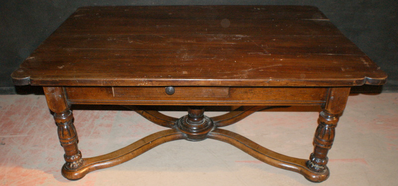 Walnut Low Table Antique BEDSIDE TABLES Antique TABLES