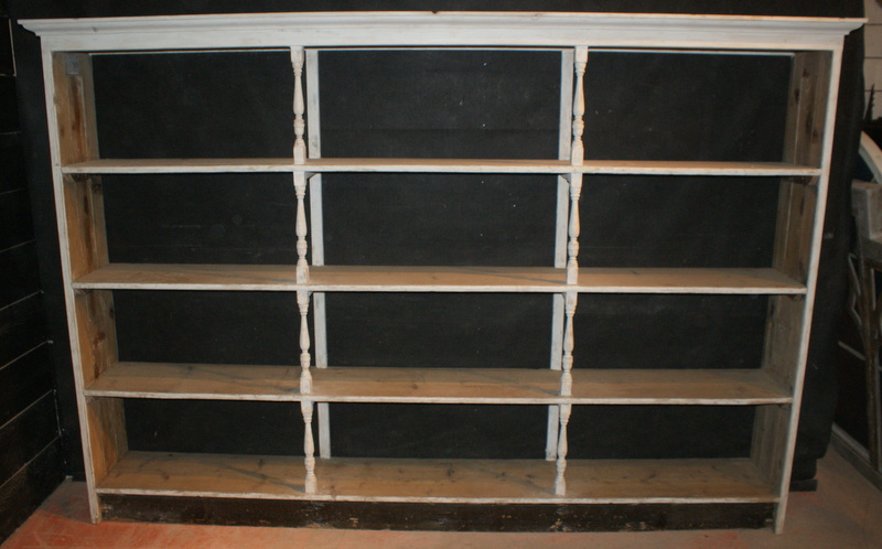 Large set of shelves
