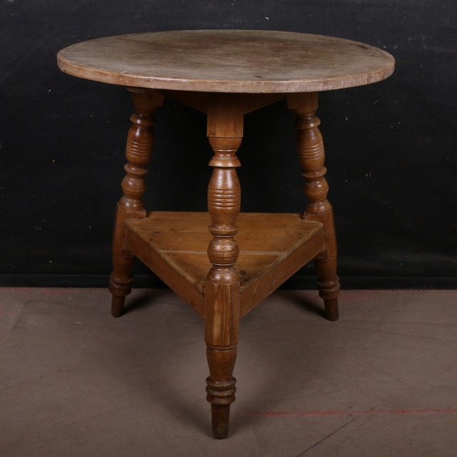 Welsh Sycamore and Pine Cricket Table