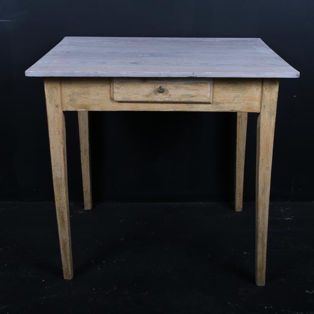 Original Painted Lamp Table