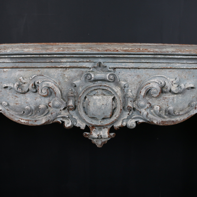 Stunning Carved Console Table