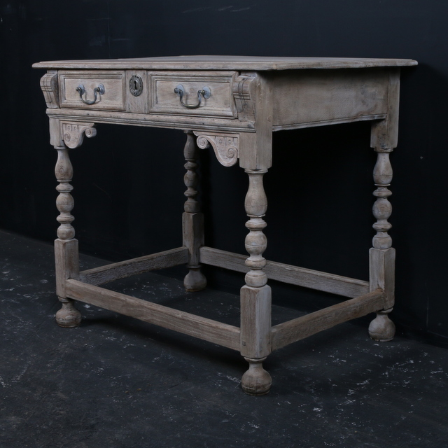 Bleached Side Table