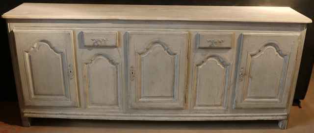 Painted French enfilade
