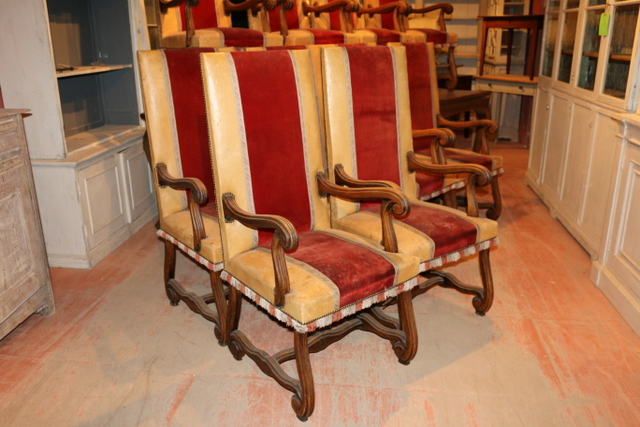 10 Italian Dining Chairs