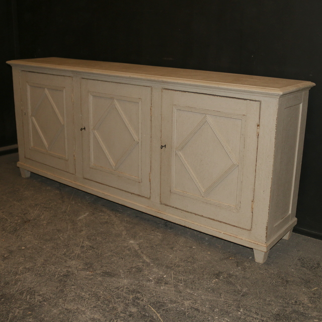Narrow Painted Buffet