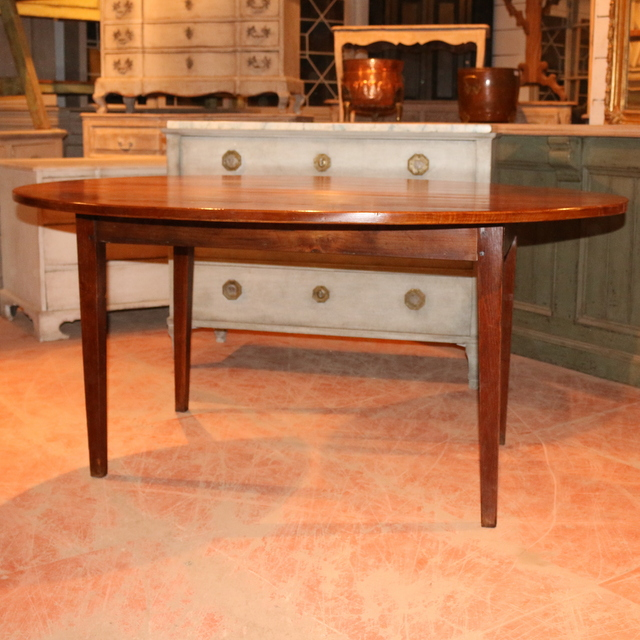 French Oval Dining Table