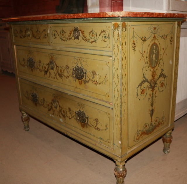 French Decorated Commode