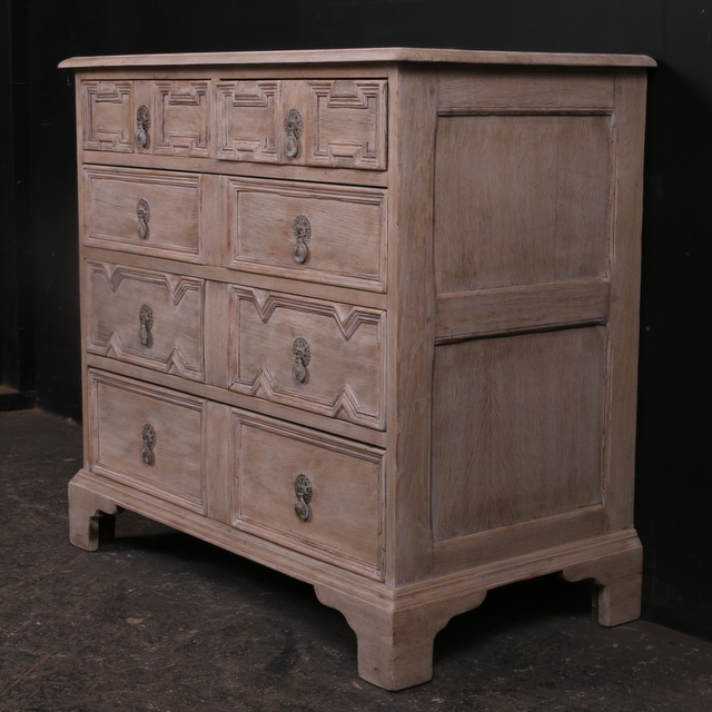 Jacobean Style Chest of Drawers