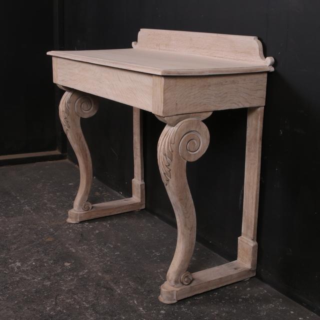 Scottish Oak Console Table