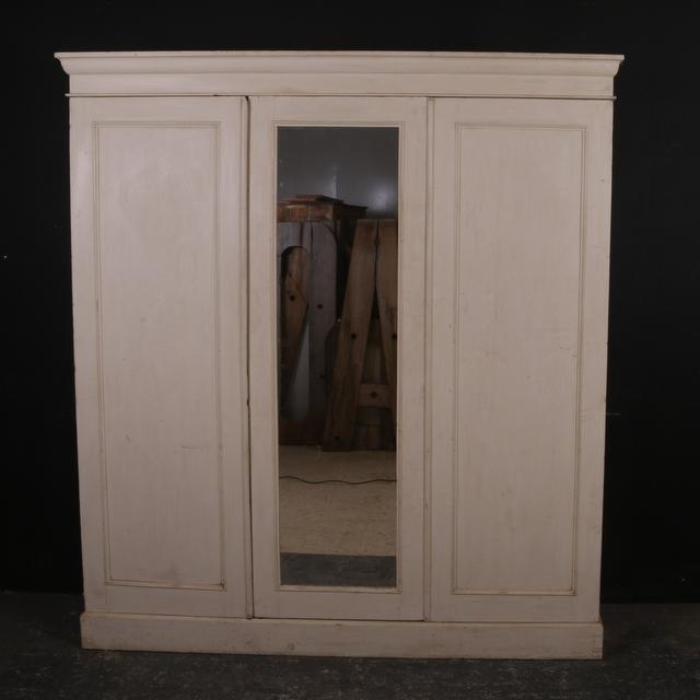 Original Painted Pine Wardrobe