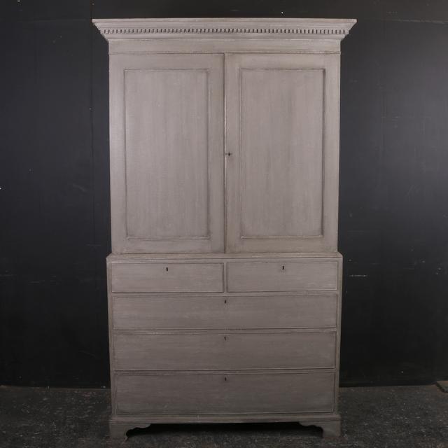 Painted Linen Cupboard