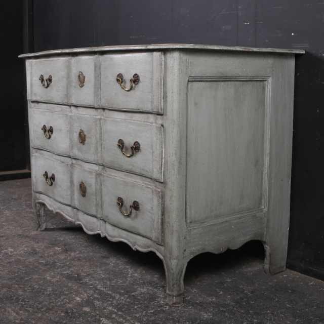 French Painted Commode