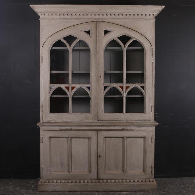 Gothic Pine Bookcase