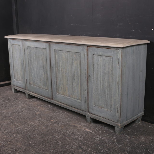 Antique Four Door Buffet