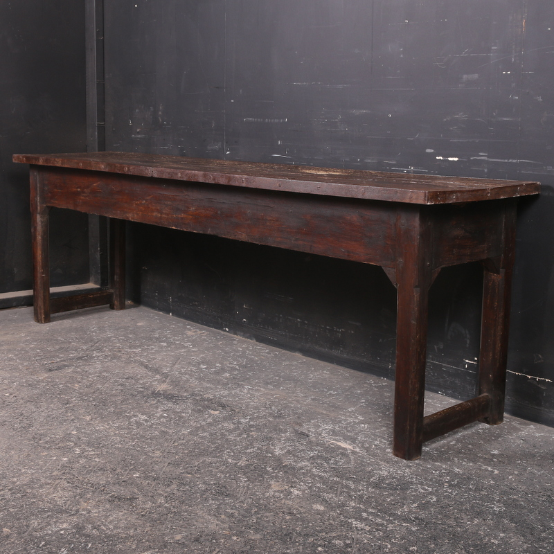 Oak and Pine Serving Table