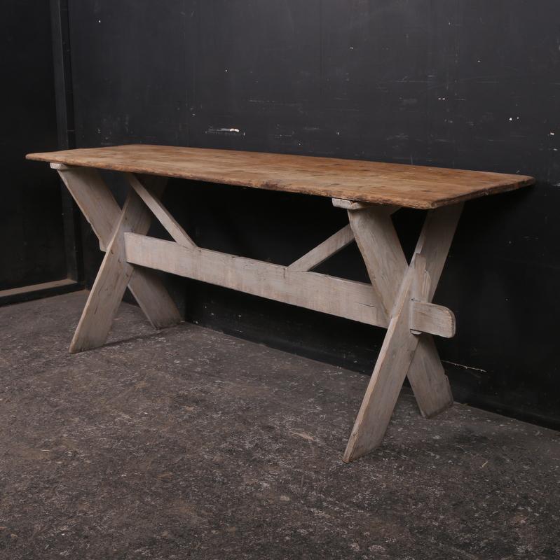 Antique Pine Tavern Table