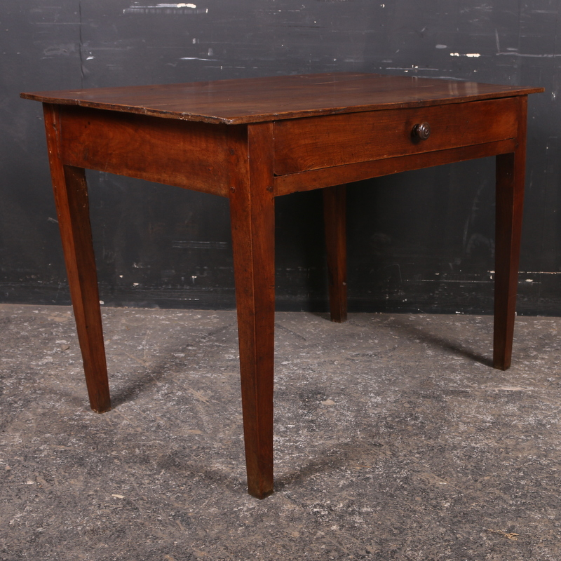 Antique Cherry Lamp Table