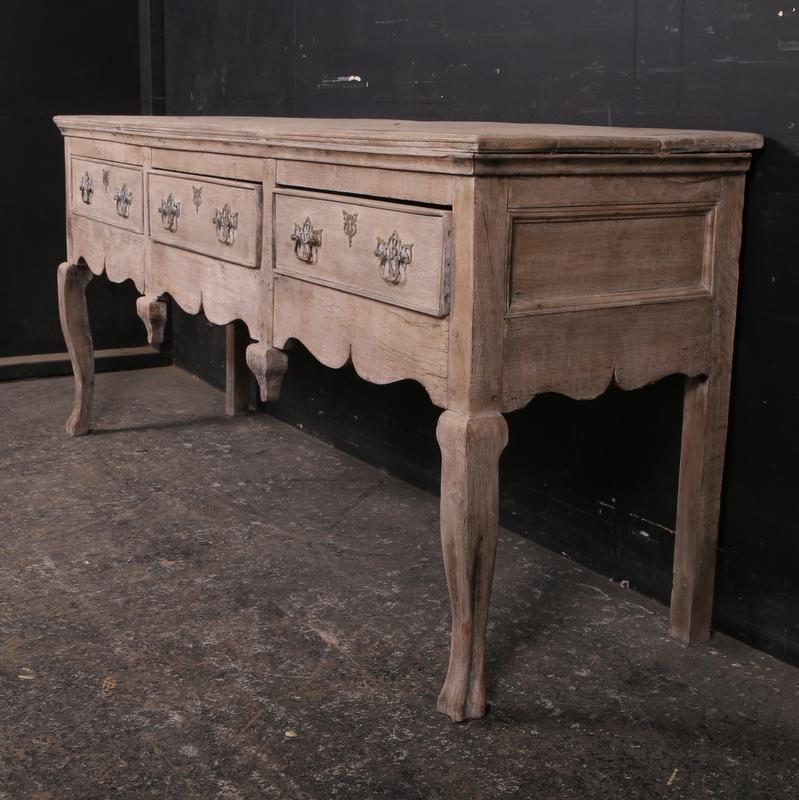 Wonderful Bleached Dresser Base