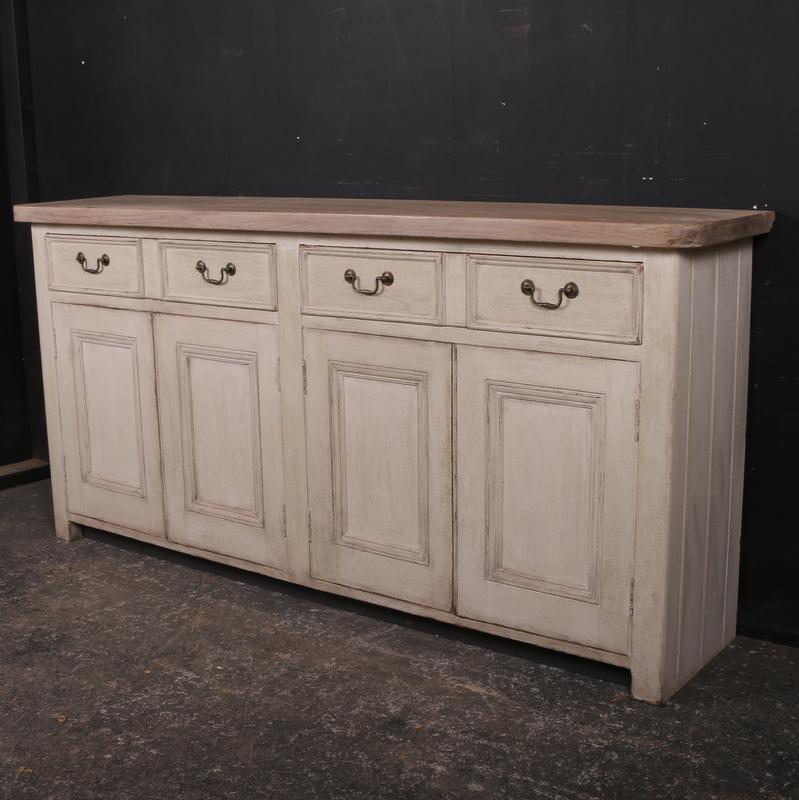 Large Antique Dresser Base