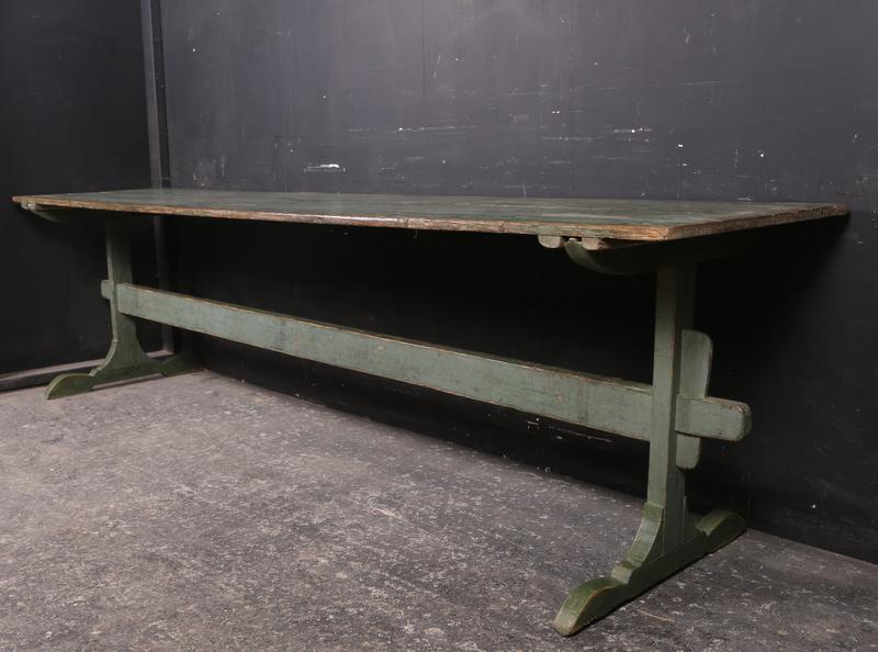 Wonderful Italian Trestle Table